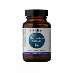 Magnesium Citrate with B6 - suplement diety