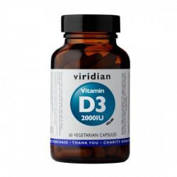 Witamina D3 2000 IU (vegan) - suplement diety