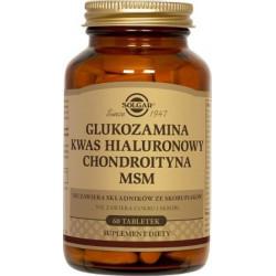 Glukozamina kwas hialuronowy chondroityna MSM kompleks - suplement diety