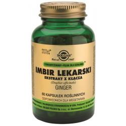 Imbir Lekarski - suplement diety