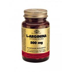 L-Arginina 500 mg - suplement diety