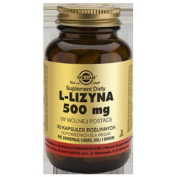 L-Lizyna 500 mg - suplement diety