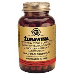 ŻURAWINA Naturalny wyciąg z żurawiny wielkoowocowej z dodatkierm witaminy C - suplement diety