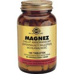 Magnez chelat - suplement diety