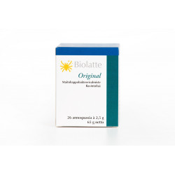 Biolatte Original (Ludzkie Szczepy Bakterii Kwasu Mlekowego)  26 saszetek - suplement diety