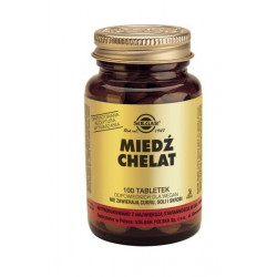 Miedź Chelat - suplement diety