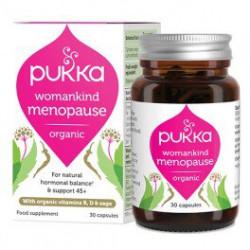 Pukka Womankind Menopause 45+ - suplement diety