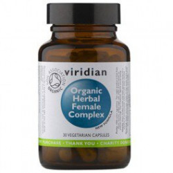 Organic herbal female complex - suplement diety