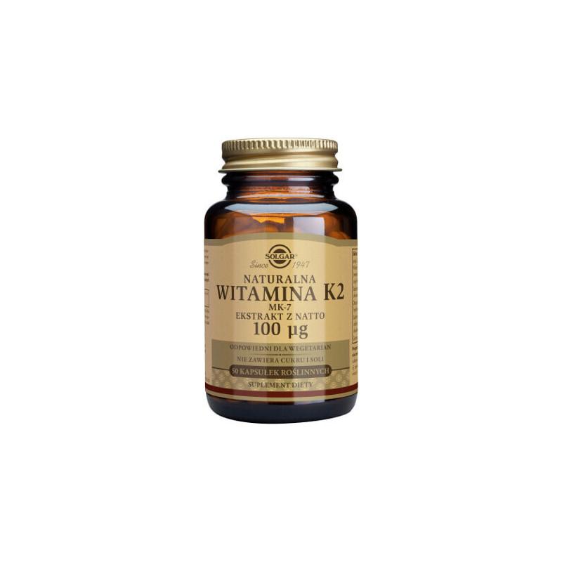 Witamina K2 100 µg (MK-7)  - suplement diety