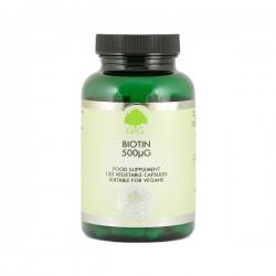 Biotyna (500 µg) - suplement diety