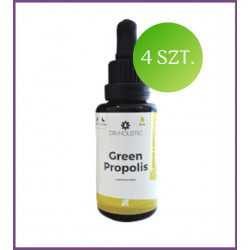 ZESTAW: suplement diety GREEN Propolis 4 szt.