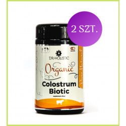 ZESTAW: suplement diety Organic Colostrum BIOTIC 2 szt.
