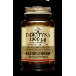 D-Biotyna 1000 μg - suplement diety
