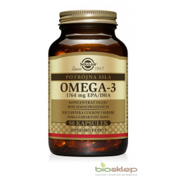 Omega-3. Potrójna siła. 1764 mg EPA/DHA