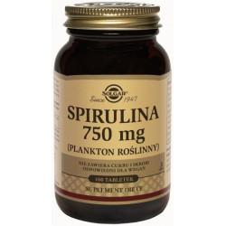 Spirulina 750mg - suplement diety