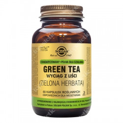 Zielona Herbata - Wyciąg z liści Green Tea.