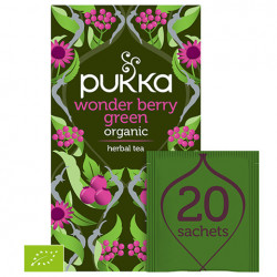 Pukka Wonder Berry Green BIO