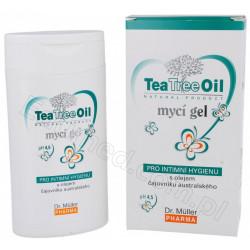 Żel myjący do higieny intymnej z olejkiem z drzewa herbacianego