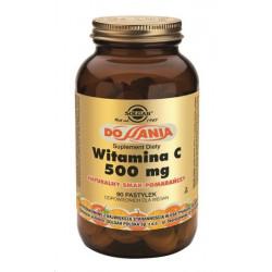 Witamina C do ssania smak pomarańczowy - suplement diety