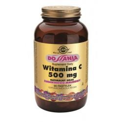 Witamina C do ssania smak żurawinowo - malinowy - suplement diety