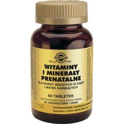 Witaminy i minerały prenatalne - suplement diety