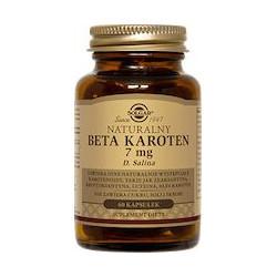 Naturalny Beta Karoten 7 mg - suplement diety